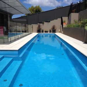 Self-cleaning Fastlane lap pool